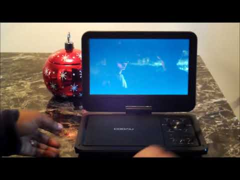 """Let's Unbox And Test The Coovu 12"""" Portable DVD Player"""