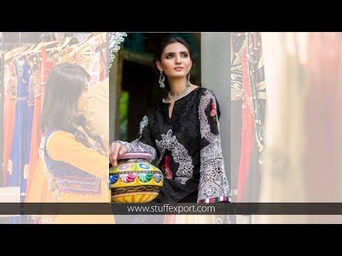 Kilruba Monochrome Cambric Cotton With Embroidery Work Pakistani Style Suits Catalog