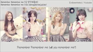 Secret - Remember Me