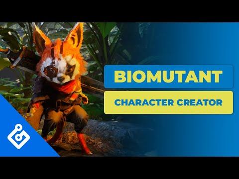 Biomutant : Biomutant Character Creator Breakdown (4K)