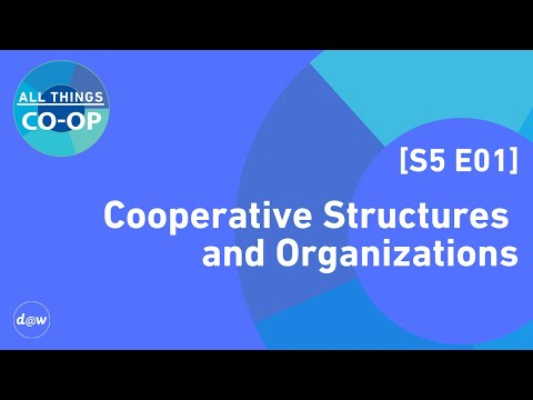 All Things Co-op: Cooperative Structures and Organizations