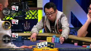 Final Table | HK$1 Million Short Deck Ante Only | Triton Poker Super High Roller | Part 1