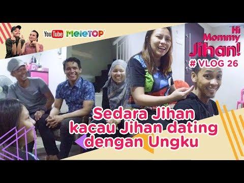 Hi Mommy Jihan Vlog #26 | Sedara Jihan datang kacau Jihan dating dengan Ungku