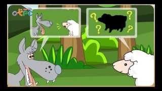 สื่อการเรียนการสอน นิทานเรื่อง หมาป่ากับแกะ ป.3 ภาษาไทย