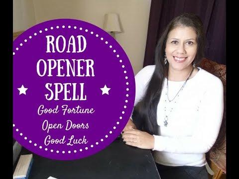 Road Opener Spell-Good Luck Open Doors Good Fortune Spell