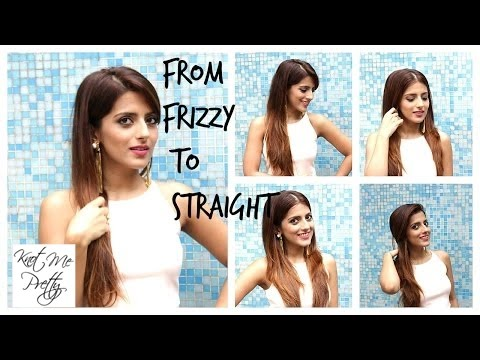 How To: Straighten Your Hair Perfectly With A Hair Straightener  Flat Iron
