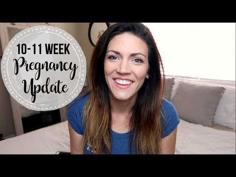PREGNANCY UPDATE WEEK 10-11 // Weight Gain, More Energy, Symptoms