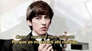 Think for yourself - The Beatles (LYRICS/LETRA) [Original]