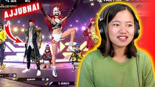 Ajjubhai Propose Me? @Total Gaming  Prank his viewers   Garena Free Fire