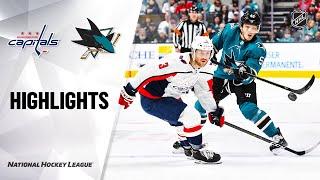 NHL Highlights   Capitals @ Sharks 12/3/19