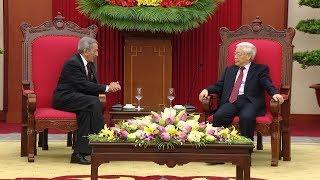 Tin Tức 24h: Tổng Bí thư Nguyễn Phú Trọng tiếp Đoàn đại biểu Cuba