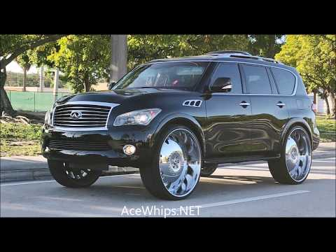"AceWhips.NET- AD's First in the World Infiniti QX56 on 32""s Forgiatos"