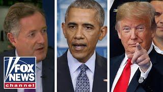 Piers Morgan: Obama wasn't a saint, Trump isn't the devil