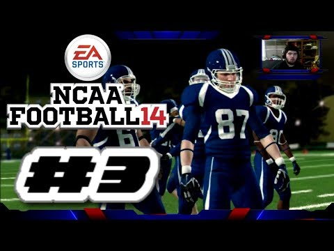NCAA Football 14 PS3 Road To Glory Gameplay Ep.3 (Road To Madden NFL 20 PS4 Career Mode)