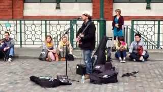 Mad World performed by Rob Falsini in Covent Garden.