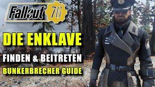 Die Enklave   Finden & Beitreten Guide   Fallout 76   Bunkerbrecher