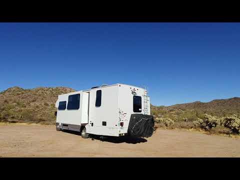 Video Of Box Wash Dispersed Camping, AZ