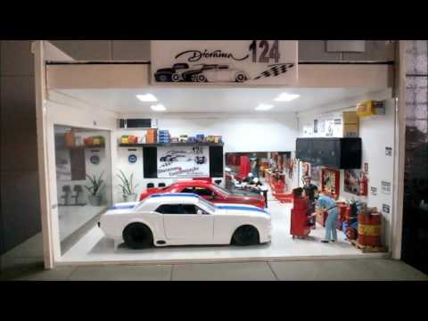 Diorama Oficina Performance 1 escala 1:24
