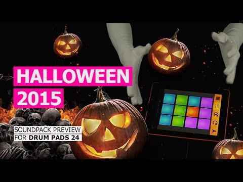 Video of Drum Pads 24 - Halloween