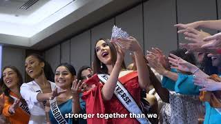 Behind The New Miss Universe Crown