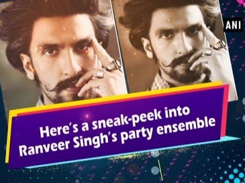 56e2d05719 Here s a sneak-peek into Ranveer Singh s party ensemble -  Bollywood News