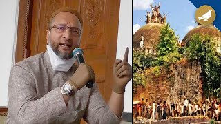 Babri demolition: All accused acquitted, Owaisi expresses anger  IMAGES, GIF, ANIMATED GIF, WALLPAPER, STICKER FOR WHATSAPP & FACEBOOK