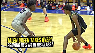 Jalen Green Wants To RECLAIM HIS THRONE At #1! Scores 30 In SECOND HALF In EPIC COMEBACK!