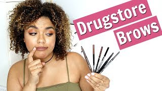 Best and Worst Drugstore Brow Pencils/ Brow Wiz Dupes | samantha jane