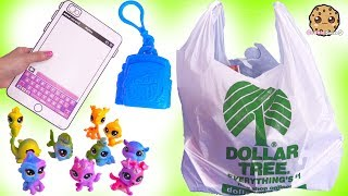 Charm U Surprise + Rainbow Littlest Pet Shop Toys At Dollar Tree Store !!!