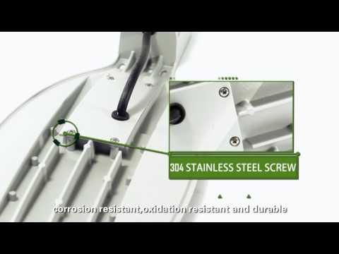Ledtronic Gatelys 50 W - film på YouTube