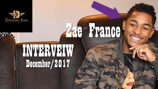 Zae France - Interview (Up & Coming R&B Artist) December 2017