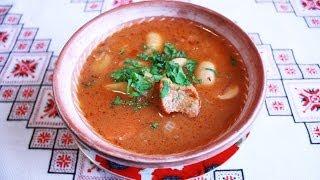 Чанахи рецепт с мясом и фасолью Как приготовить чанахи Чанахи по львовски Чанахи по львівськи ченахи