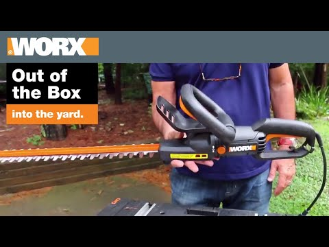 WORX Electric Hedge Trimmer Review | Out of the Box
