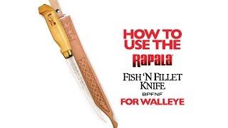 Нож складной rapala sfm-k folding fishing knife