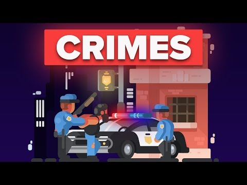 What Is The Most Common Crime In Different Countries?