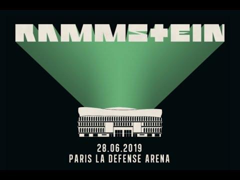 Rammstein Live aus Paris La Défense Aréna 2019