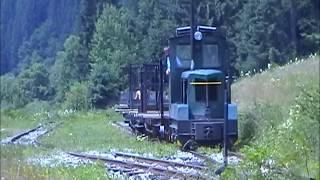 Timber Traffic At Ciernohronska Zeleznica 2002