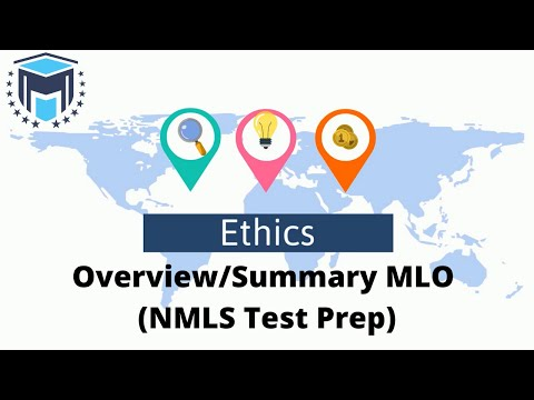 Ethics Overview/Summary MLO (NMLS Test Prep) - YouTube