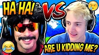DRDISRESPECT BEATS NINJA IN $20,000 TOURNAMENT! *SALTY* Fortnite SAVAGE & FUNNY Moments