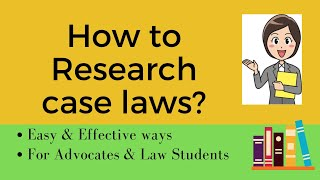Searching Case Laws: How to Research Case Laws : Legal Research Tips :: Online Legal Research