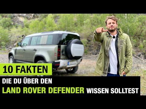 10 Fakten die DU über DEN Land Rover Defender 2020 wissen solltest! Fahrbericht On/-Offroad | Review
