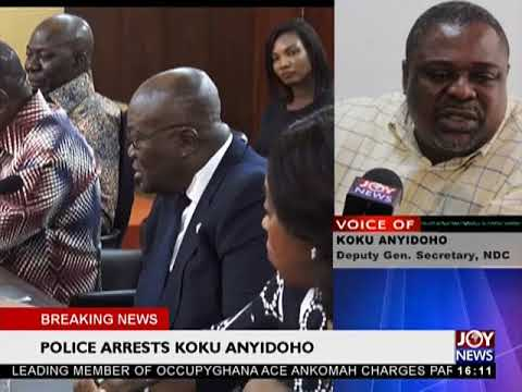 The words of Koku Anyidoho...- The Pulse on JoyNews (27-3-18)