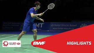 YONEX Swiss Open | MS Semifinals Highlights | BWF 2019