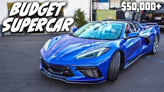 *EXCLUSIVE* ACCESS TO THE MID-ENGINE C8 CORVETTE... (Exhaust Sounds, and Full Review)