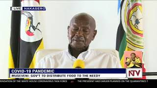 President Museveni addresses the nation on COVID-19 situation in Uganda