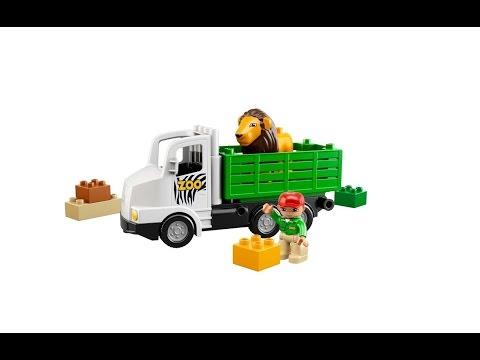 Vidéo LEGO Duplo 6172 : Le camion du zoo