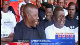 Mafunzo yakukuza soka nchini iliyoandaliwa na klabu ya Arsenal yaisha