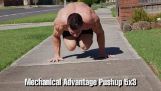 Advanced Bodyweight Workout