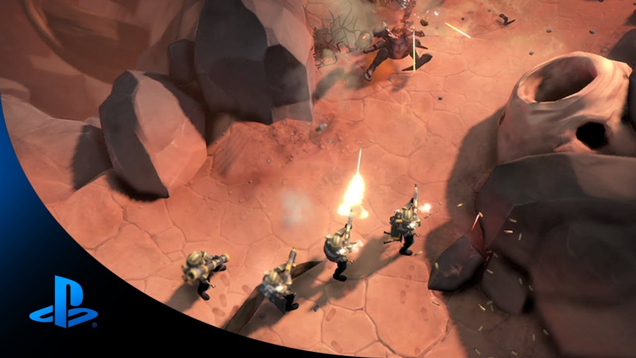 Helldivers Coming to PS4, PS3, PS Vita in 2014