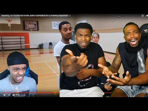 FLIGHT HAS NO MORE EXCUSES!! REACTING TO HIS REACTION 1vs1 A Female Hooper!